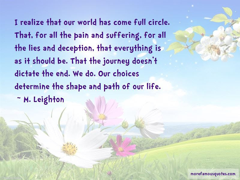 Life Is Full Circle Quotes Top 24 Quotes About Life Is Full Circle
