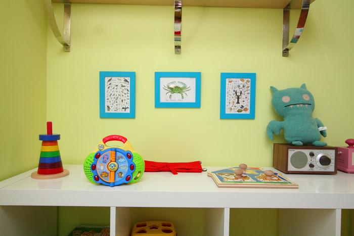 detail toy corner