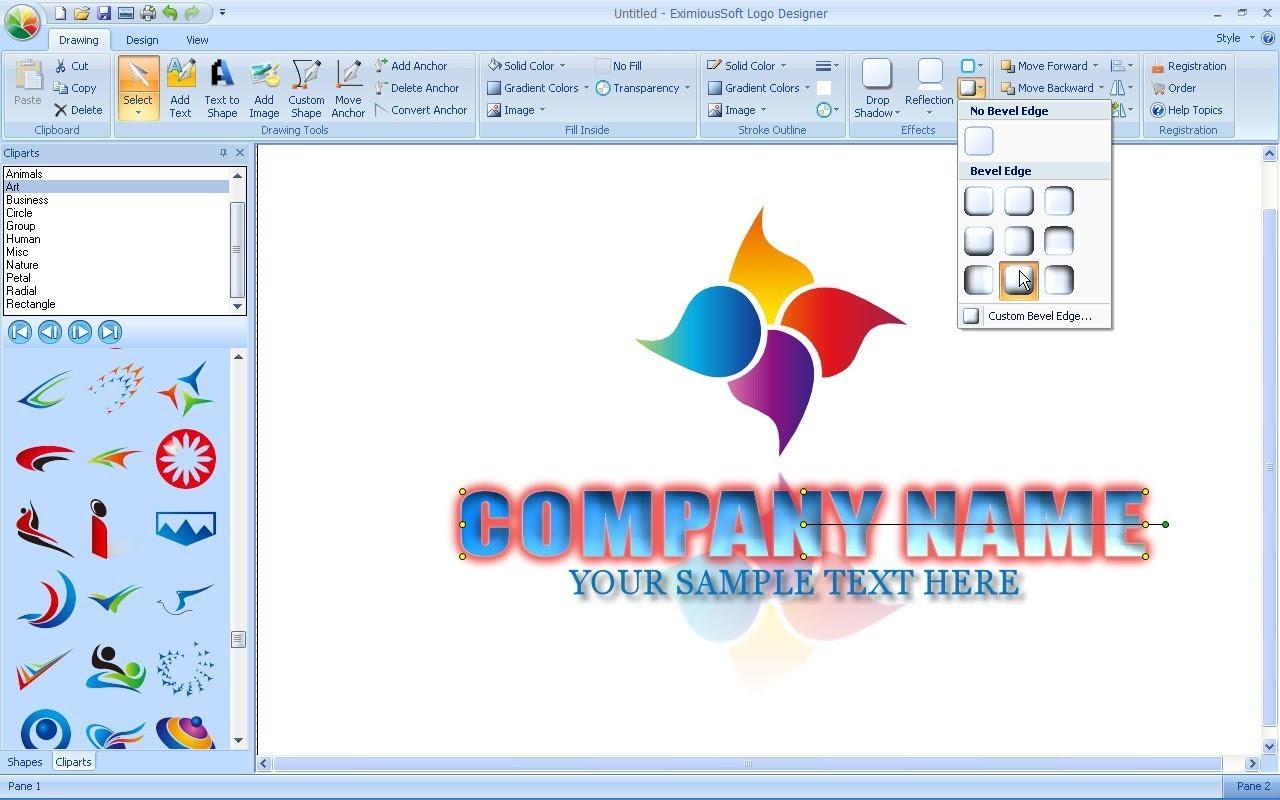 Logo Design Software Screenshot Page