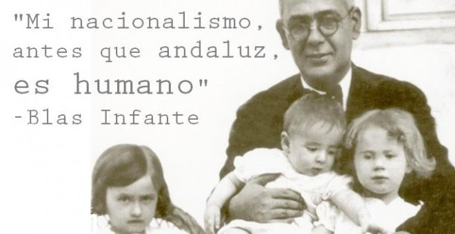 Político, ensayista y notario andaluz Blas Infante