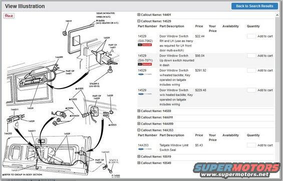 Ford Bronco Door Wiring Diagram