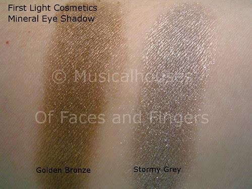 first light cosmetics golden bronze storm grey