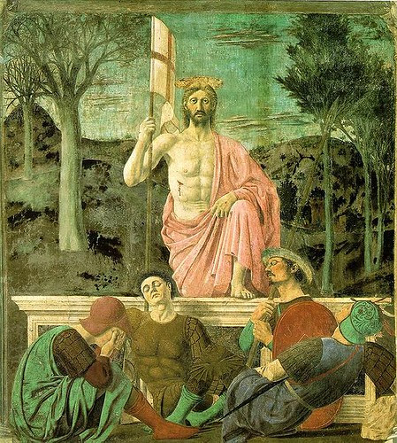 Piero della Francesca, Resurrection by julianna.lees