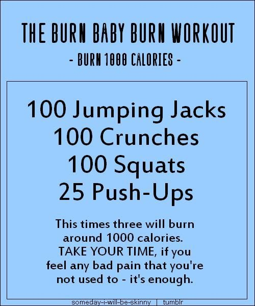77 INFO EASY EXERCISES TO BURN 1000 CALORIES WITH VIDEO ...