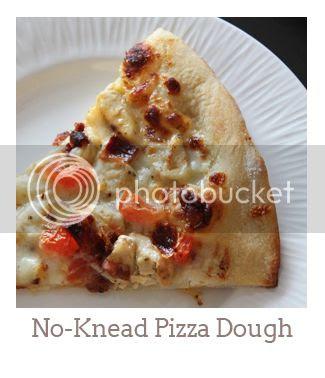 """""""No-Kead Pizza Dough"""""""