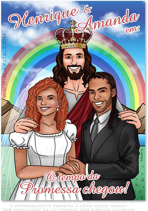Convite em quadrinhos, convite personalizado, convite original, convite casamento, história em quadrinhos personalizada, quadrinhos noivos, by ila fox