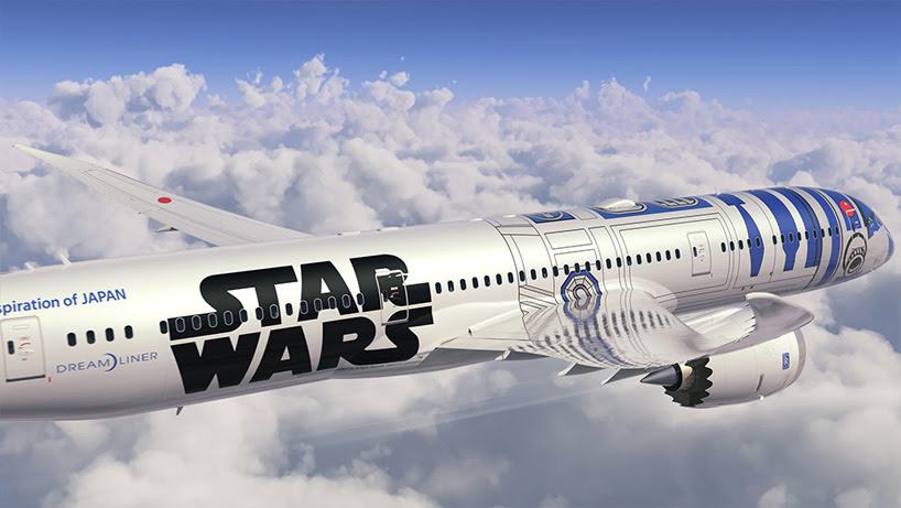 ANA's star wars themed R2-D2 aircraft to take passengers far, far away