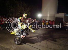 Foto Show de welling no Salão da Motocicleta