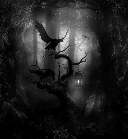 witchinqhour:  THERE IS ALSO A DARK SIDE TO THE WORLD.