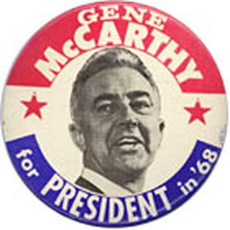 Eugene McCarthy button
