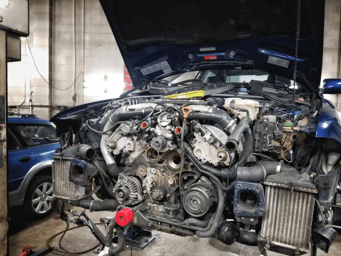 Audi B5 S4 Engine