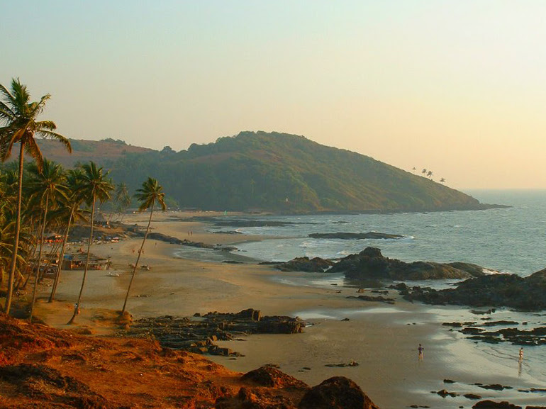 Vagator Beach Goa India Location Map,Location Map of Vagator Beach Goa India,Vagator Beach Goa India accommodation destinations attractions hotels resorts map reviews photos pictures,vagator beach goa restaurants parties huts address google map videos in north goa