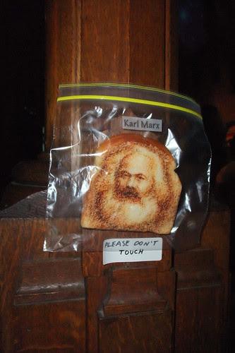 Karl Marx on Toast!