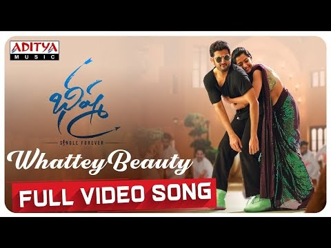 Whattey beauty video song from Bheeshma released   Watch it