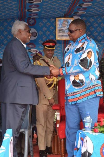 Chakuamba meets President Mutharika