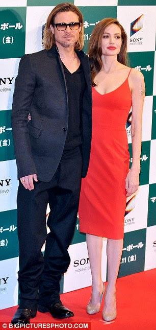 O privilegiada: parceiro de Angelina, Brad Pitt, é a única pessoa autorizada a ver seu lado ruim gal hoje