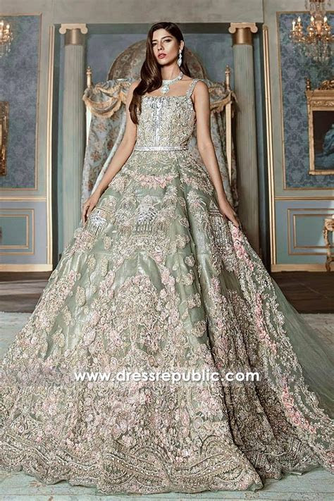 Pakistani Designer Bridal Dresses 2018 Los Angeles, New