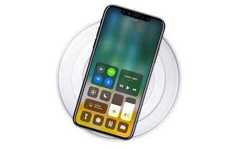 iPhone 8 charging pad