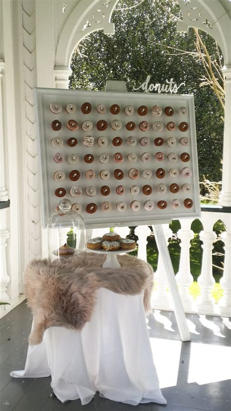 Donut Walls   Envy Events, Wedding Hire, Styling, Planning