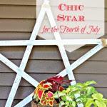 Shabby Chic Star