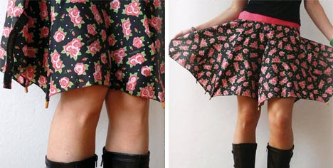 upcycled skirt plans