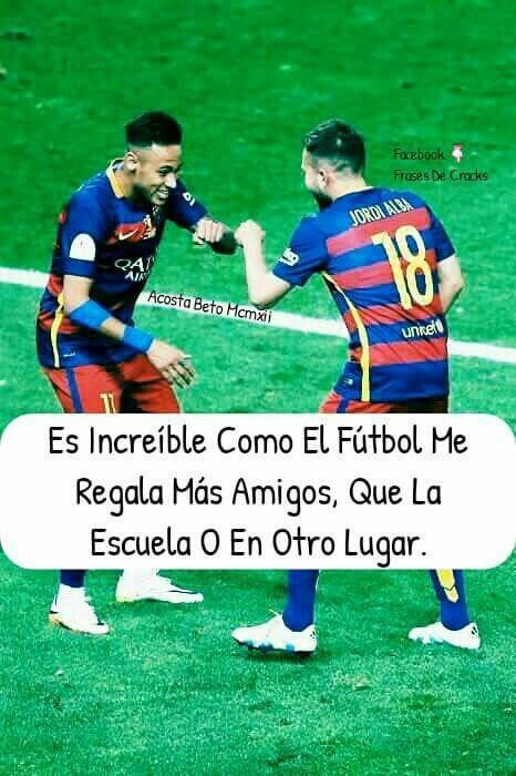 Imagenes De Futbol Con Frases Imagenes Chidas