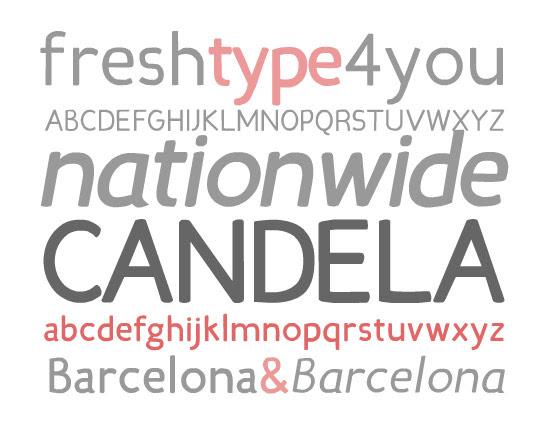 sleek fonts