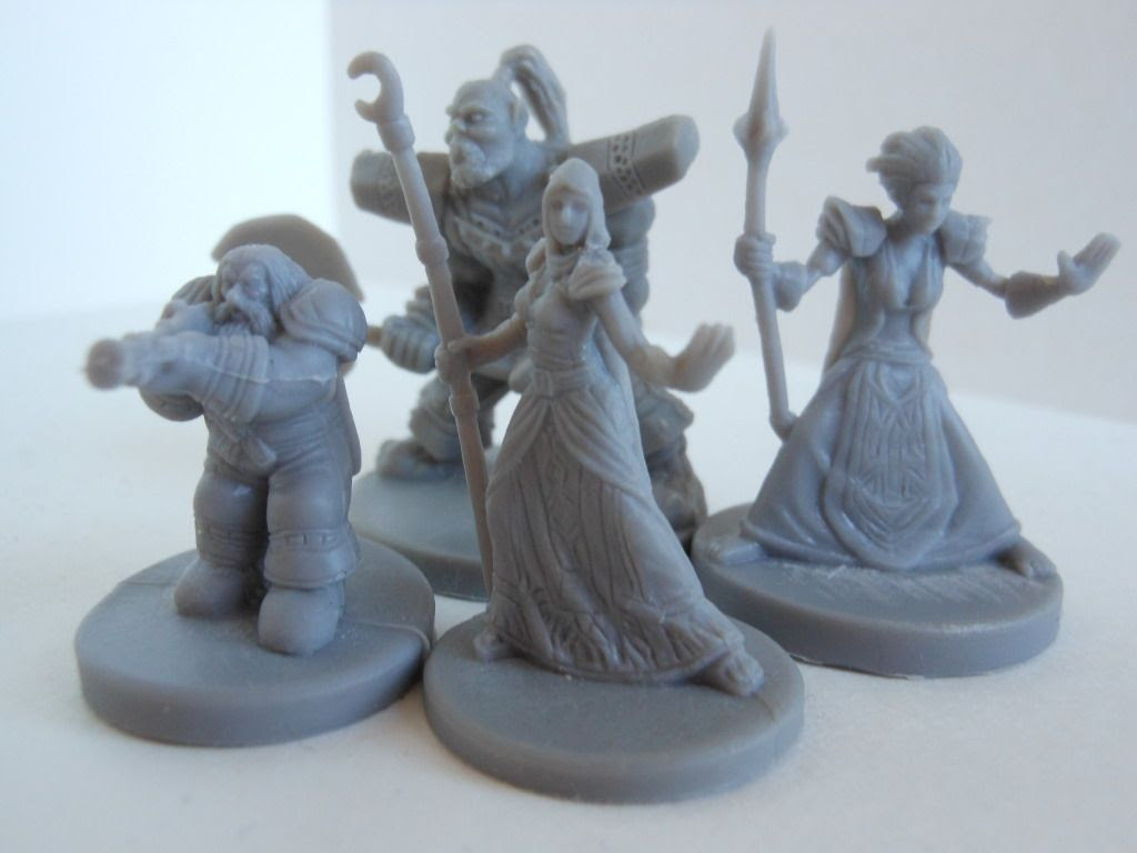 World of Warcraft: The Adventure Game base game miniatures