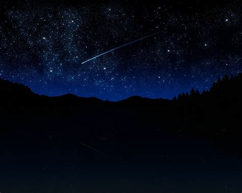 night stars wallpapers widescreen long wallpapers