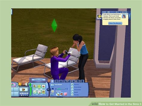 How to Get Married in the Sims 3 (with Pictures)   wikiHow