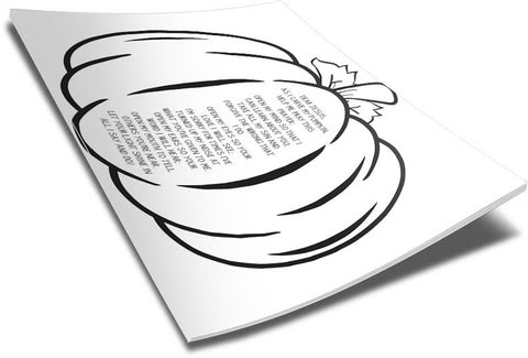 pumpkin prayer coloring page  children's ministry deals
