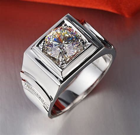 Aliexpress.com : Buy 2CT Brilliant Simulate Diamond Men