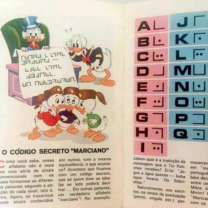 Código Marciano do Manual do Escoteiro Mirim