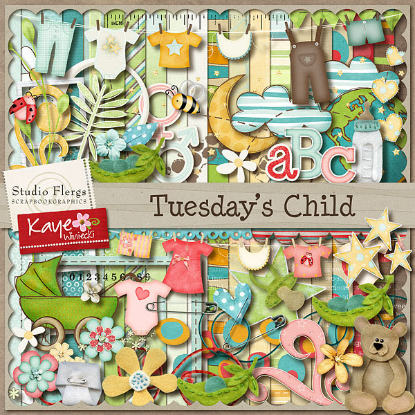Tuesday's Child - collab with Studio Flergs