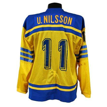 Sweden 1981 jersey, Sweden 1981 jersey