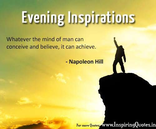 Good Evening Quotes Wishes Inspiring Quotes Inspirational