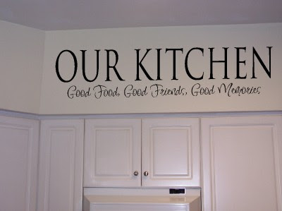 xpresivdesigns : Vinyl Wall Lettering Kitchen Food Quote