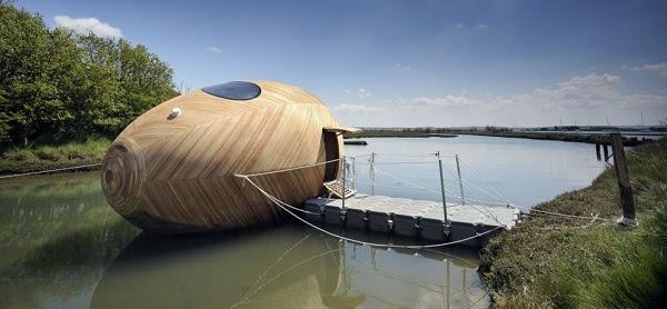 perierga.gr - Εντυπωσιακά σπίτια που επιπλέουν στο νερό!