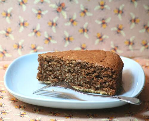 Torta al cioccolato con cuscus