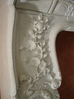Architectural Stone - Fireplace Detail