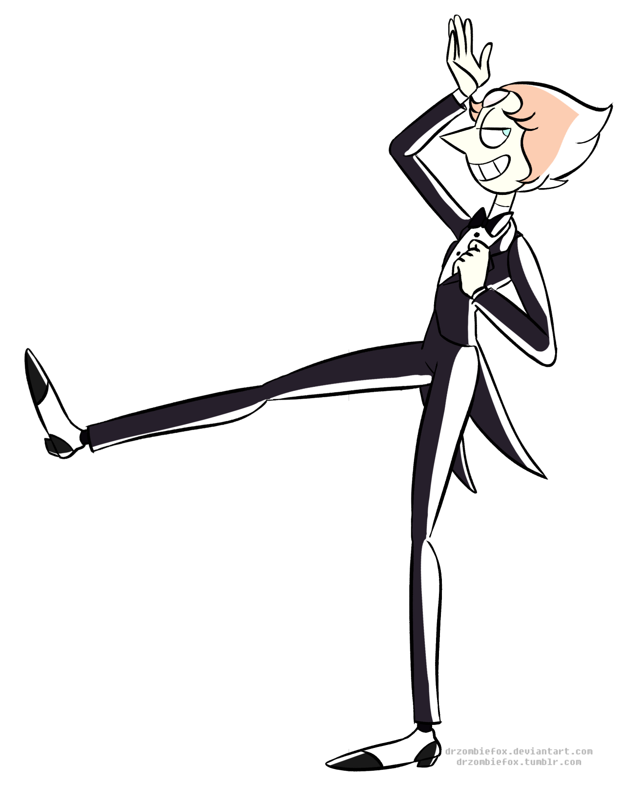 There was a lot in that new promo but I think this was my favorite. Pearl in a tuxedo is just ahhhhh