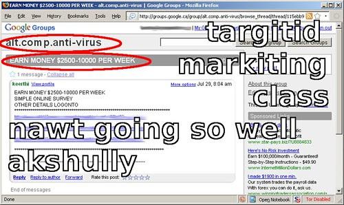 bad-targetting