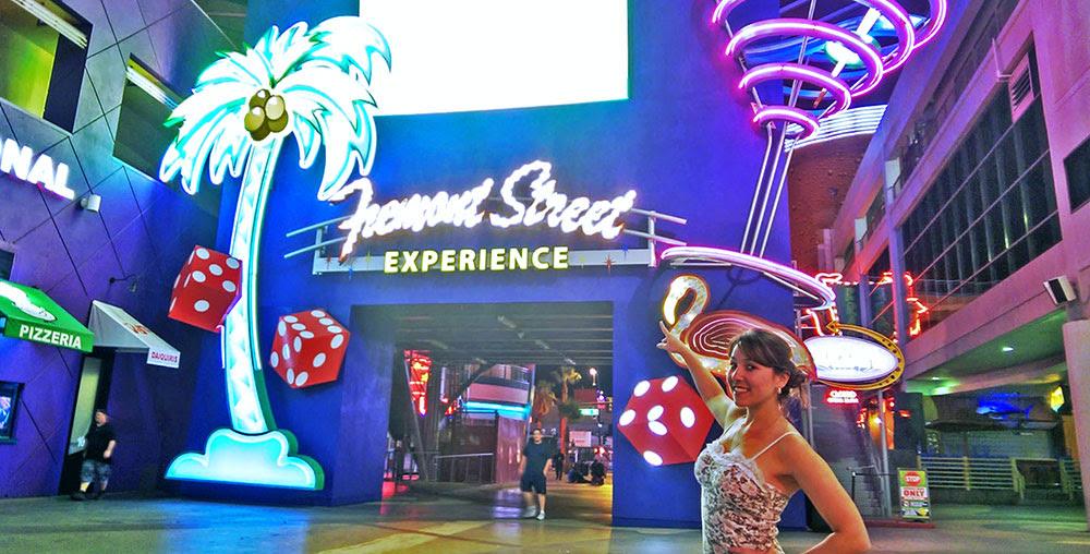 Freemont Street, em Las Vegas, Nevada