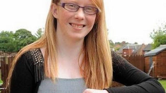 Megan Stewart sofre da Síndrome do Cabelo Penteado, um caso único no mundo.