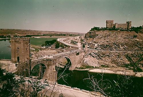 Puente de Alcántara en 1973
