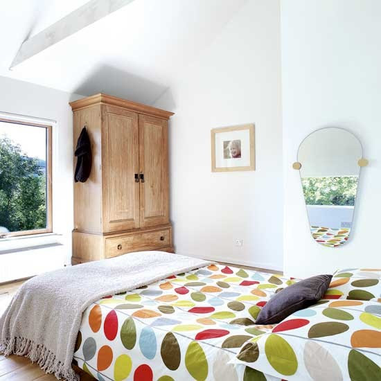 Simple bedroom  Bedroom decorating ideas  Bedding  housetohome.co.uk