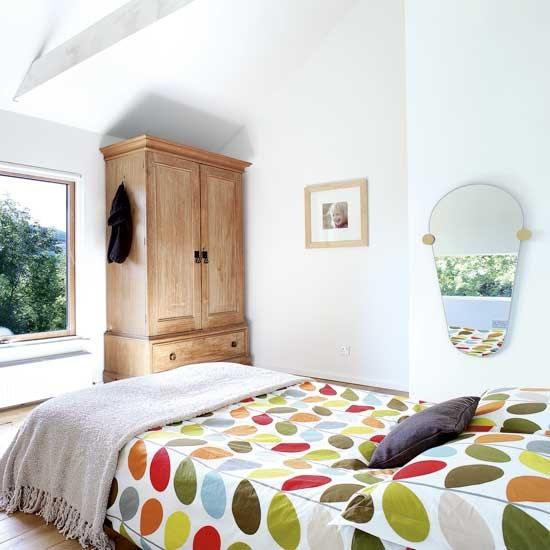 Simple bedroom  Bedroom decorating ideas  Bedding  housetohome.co.uk