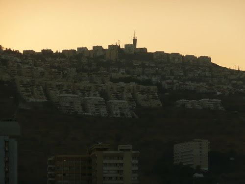Tiberias at sunset