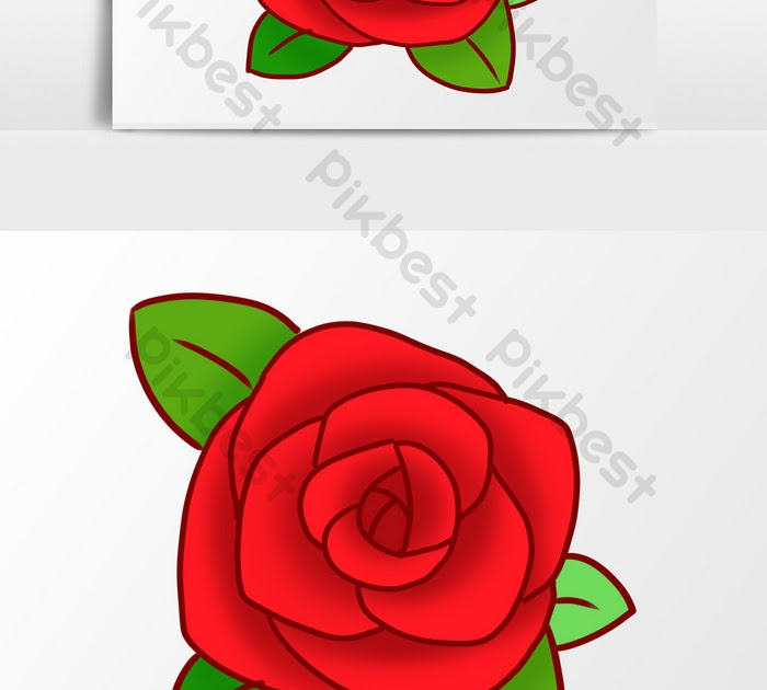 8000 Gambar Bunga Mawar Kartun Hd Paling Keren Gambar Id