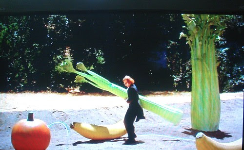 Woody Allen and the banana